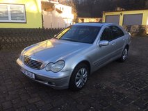 Mercedes-Benz C200 Sedan, AUTOMATIC, A/C, Low Miles (81k) New Service, New TÜV!! in Ramstein, Germany