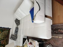 Leather Sofa; Electric Slide out in Ramstein, Germany