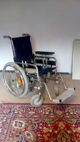 wheelchair in Ramstein, Germany