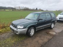 SUBARU FORESTER Manual NEW INSPECTION 2003 only 108.000 miles in Ramstein, Germany