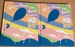 Dr Seuss Journal Oh The Places I've Been! New in Okinawa, Japan