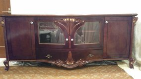 TV Stand Cabinet Very Nice *REDUCED in Okinawa, Japan