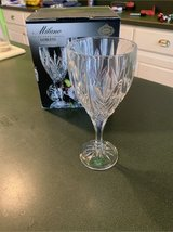Crystal goblets in Cherry Point, North Carolina