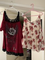 Two off the shoulder shirts in Travis AFB, California