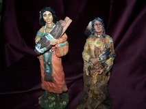 2 Old West Vision Limited Edition Indian Statues in Alamogordo, New Mexico