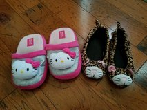 Girls Kitty Slippers, Size 2/3 in Clarksville, Tennessee