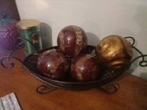 $15 orbs and basket new in Fort Campbell, Kentucky