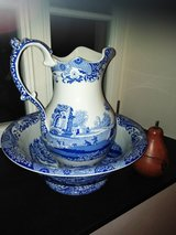 SPODE bowl and pitcher in Ramstein, Germany