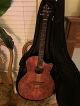Luna Guitars Gypsy Spalt Grand Auditorium Acoustic-Electric Guitar in Naperville, Illinois