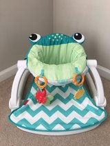 Fisher Price Froggy Sit me up floor seat in Tacoma, Washington