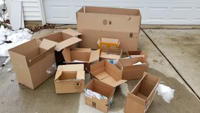 Small, Medium and Large Boxes  & Bags in Naperville, Illinois