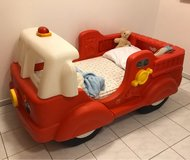 Firefighter toddler bed with mattress in Ramstein, Germany