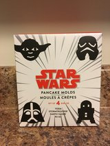 NIB Star Wars Movie Pancake Molds in Camp Lejeune, North Carolina