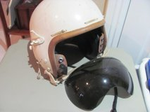 1950'S AIRFORCE JET PILOT HELMET/VISOR in Camp Pendleton, California