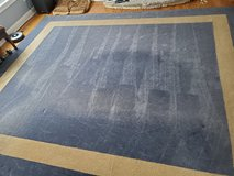 12'x14' Blue and Beige Rug in Chicago, Illinois