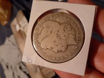 1882 CC Morgan Silver Dollar in Fort Bliss, Texas