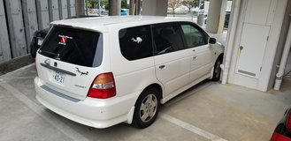 Honda Odyssey (2000 model) in Okinawa, Japan