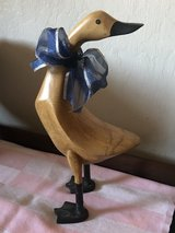 Primitive Wooden Duck Figurine in Travis AFB, California