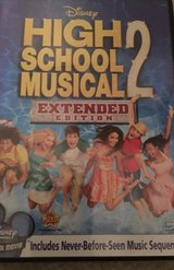 Disney High School Musical 2 dvd (The Extended Edition) in Camp Lejeune, North Carolina