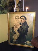 beautiful antique religious picture from France in Ramstein, Germany