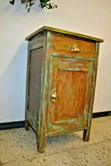 Antique Art Nouveau bedside dresser Shabby side table - one available in Ramstein, Germany