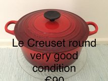 Le Creuset french cast iron cookware in Ramstein, Germany