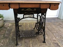 beautiful antique sewing machine table in Ramstein, Germany