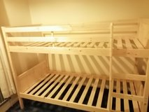 Bunk beds with trundle. Only erected last week and never used in Lakenheath, UK