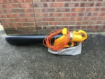 Leaf blower/sucker in Lakenheath, UK