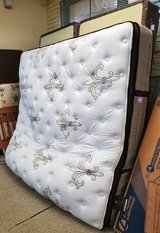 Stearns & Foster King Size Mattress and Box Springs in Alamogordo, New Mexico
