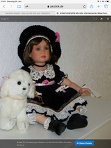 Collecting dolls in Ramstein, Germany
