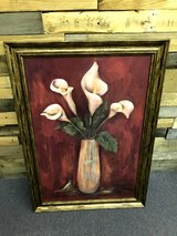 Large Framed Painting in Beaufort, South Carolina