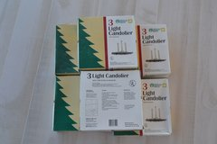 3 Light Candoliers (6) boxes in Alamogordo, New Mexico