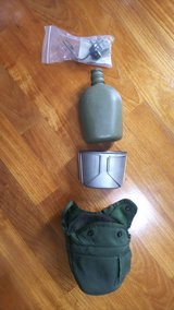 Military issue canteen/cup/pouch in Okinawa, Japan