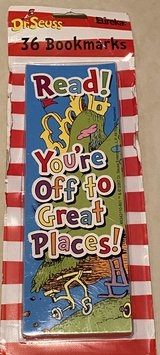Dr Seuss You're Off to Great Places Bookmarks NIP in Okinawa, Japan