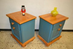 2 Vintage Bedside dresser Shabby side table in Wiesbaden, GE