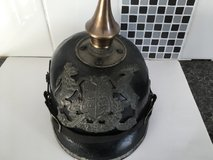 Ww1 imperial German picklehaube soldiers helmet 1900-1915 in Lakenheath, UK