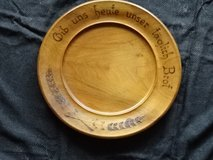 from inharitence - old wooden plate German prayer. in Ramstein, Germany