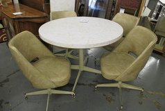 Vintage Formica Topped Table and 4 Chairs in Westmont, Illinois