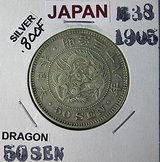 EARLY JAPAN COINAGE in Okinawa, Japan