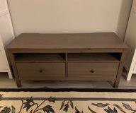 TV unit and coffee table gray brown wood stain (IKEA Hemnes) in Camp Pendleton, California