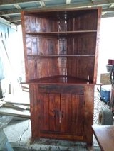 Handmade corner cabinet in Fort Polk, Louisiana
