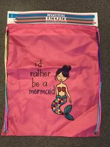 Brand New!  Mermaid Drawstring Backpack in Naperville, Illinois