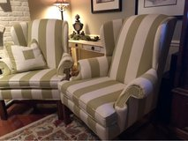 2 Custom Upholstered Chairs in Naperville, Illinois