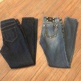 Two pairs denim jeans- Miss Me size 26 & Old Navy size 2 in Byron, Georgia