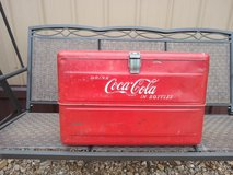 1952 Coke cooler in Fort Leonard Wood, Missouri