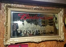 Budweiser Bar Mirror in Warner Robins, Georgia