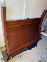 POTTERY BARN QUEEN SIZE VALENCIA SLEIGH BED in Algonquin, Illinois