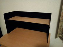 """screw on hutch / desk top shelf for desktops up to 0,9"""" thick in Ramstein, Germany"""