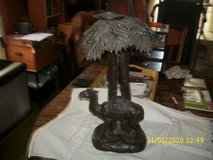 Camel with Palm Tree Candle Holder in Batavia, Illinois